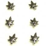 Gümüş Hızma Marihuana Piercing 124401 d