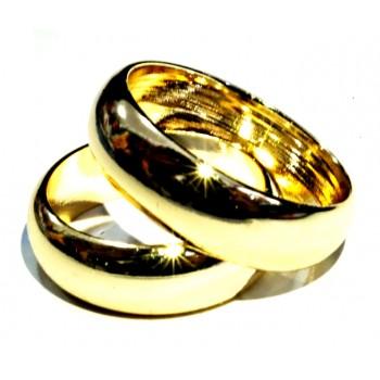 Altın Sarı Alyans Yüzük 120063 d