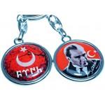 Türk Atatürk Anahtarlık 120469 d
